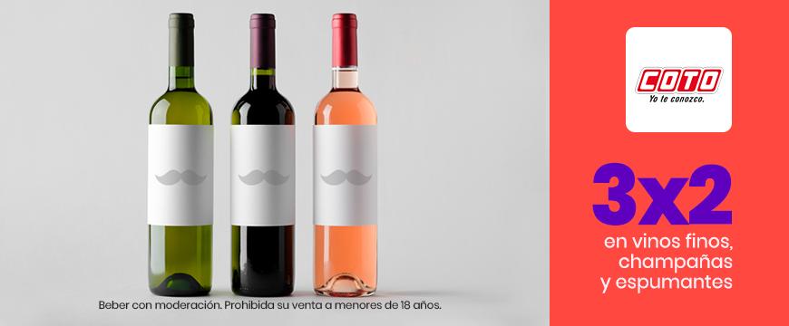 3x2 Vinos Coto