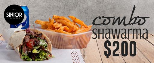 Hola! Sinior Shawarma - Combo por $200