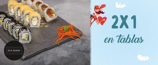 Fly Sushi - San Valentín