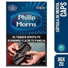 Philip Morris Caps Box 20