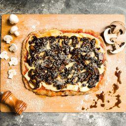 Pizza Vegana Integral Girona