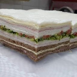 Sándwiches Triples Jamón & Palmitos x 12