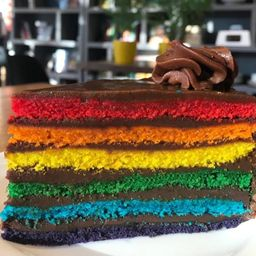 Rainbow Cake Bblack 87% Cacao Amargo