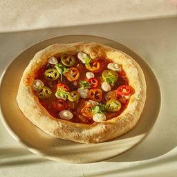 Pizza Hawaiana Sin Tacc