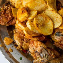 ¼ Pollo a la Calabresa