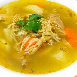 Sopa de Pollo