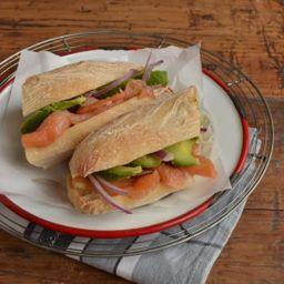 Sándwich Nórdico