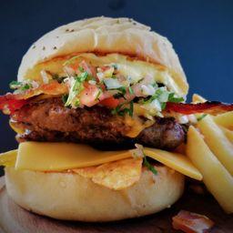 Chicana Burger Doble