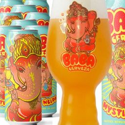 Cerveza Lata Baba Mystic Neipa 500 ml