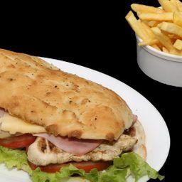 Sándwich de Pollo Grillé Completo