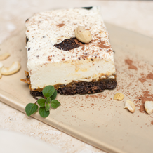 Cuadrado de Cheesecake de Oreo
