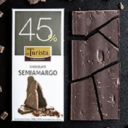 Tableta de Chocolate Semiamargo 45% Cacao
