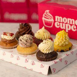 Mini Cupcake Pack X 6