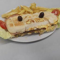 Sándwich Milanesa de Cordero