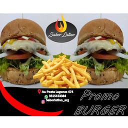 Combo Burger x 2