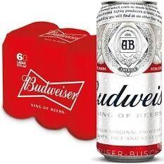 Budweiser 473 ml   Six Pack