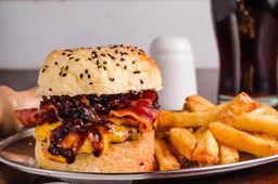 Hamburguesa de Carne & Cheddar