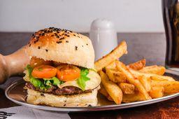 Hamburguesa de Carne & Provoleta