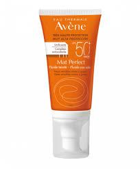 Avene Protector Solar Facial Fluido Color Matificante Spf 50+