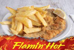 Milanesa de Entraña + Flamin Hot