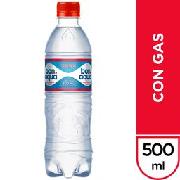Bonaqua Con Gas 600 ML