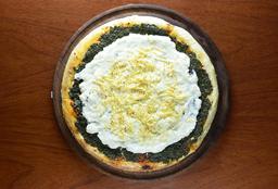 Pizza de Verdura con Salsa Blanca