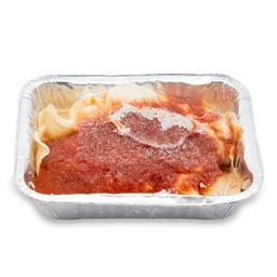 Canelones de Verdura y Pollo Con Salsa Fileto Bandeja 1 U