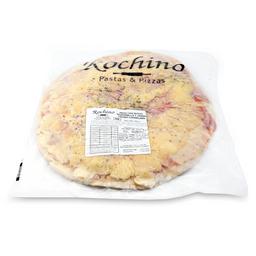 Pizza de Mozzarella y Jamon Grande 8 Porciones 1 U