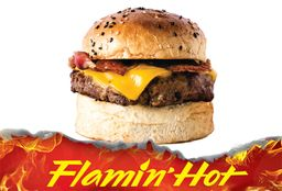 Cheassy Bacon + Bebida + Flamin Hot