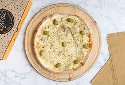 Pizza de Fugazza con Muzzarella
