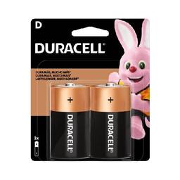 Pilas Alcalinas Duracell D -  blister por 2 unidades