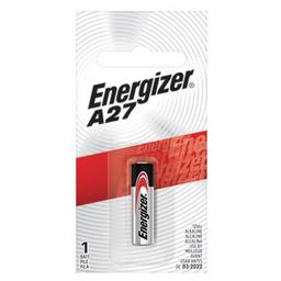 Pila alcalina Energizer A27 - blíster por unidad