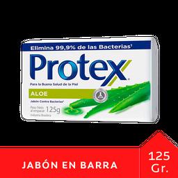 Protex Jabon Antibacterial Aloe Vera