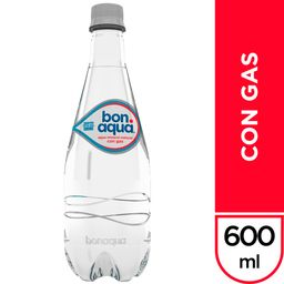 Bonaqua Con Gas 600 ML