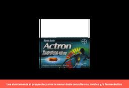 Actron X 10 Cápsulas Blandas