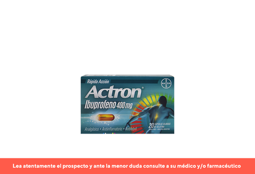 Actron X 20 Cápsulas Blandas
