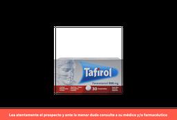 Tafirol X 30 Comprimidos
