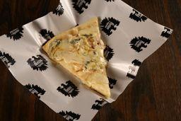 Pizza Slice Cebolla y Queso Azul