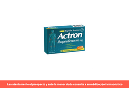 Actron X 10 Capsula Blanda