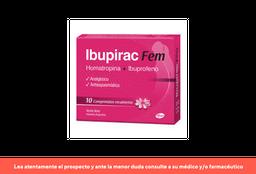 2x1 Ibupirac Fem X 10 Comprimidos