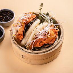 Bun de Kimchi Vegano X 2