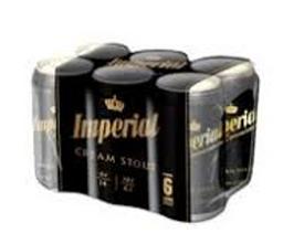 Six Pack Imperial Cream Stout Lata 473Ml Cerveza