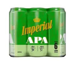 Six Pack Imperial Apa Lata 473Ml Cerveza