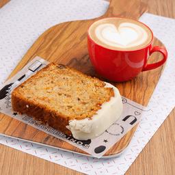 Combo Budín & Café con Leche