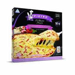 Pizza Pietro Jamon A La Piedra 1U