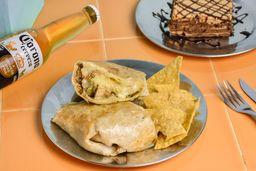 Burrito & Chocotorta & Cerveza