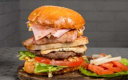 Hamburguesa Conchale Burger