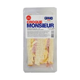 Croque Monsieur Grandwich Jamón Cocido Y Queso Danbo Pan Blanco