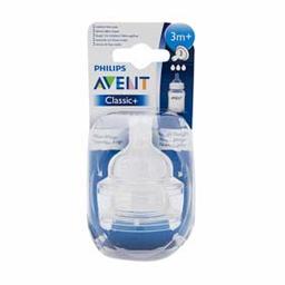 Avent - Blister Tetinas Fluir Medio +3m X 2un