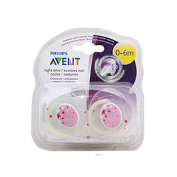 Avent - Chupete Night Time 0-6 Meses